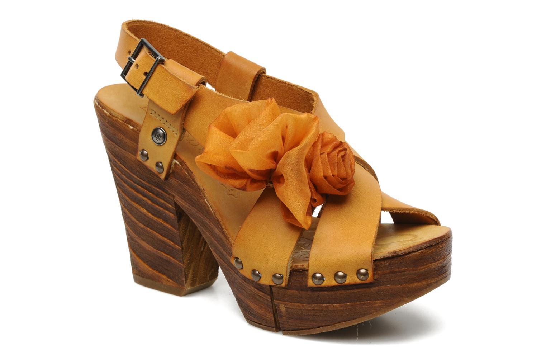 Sandales et nu-pieds Neosens Carina 173 Orange vue détail/paire