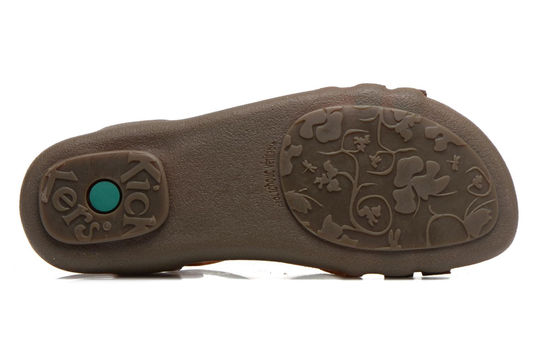 Sandalen Kickers Atomium Bruin boven