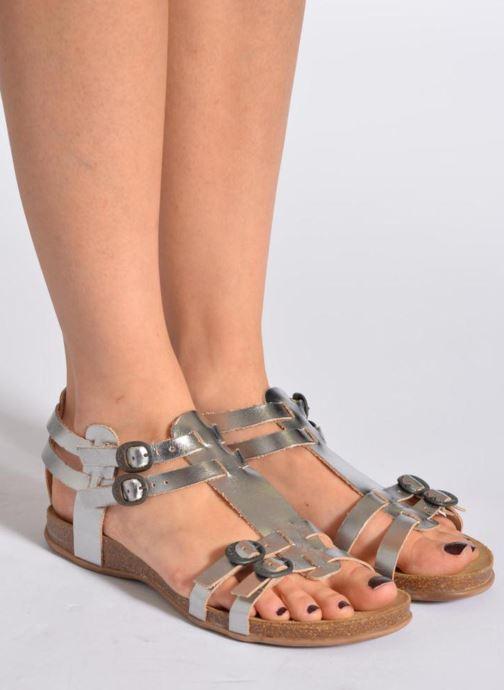 Sandalen Kickers Ana Zwart onder