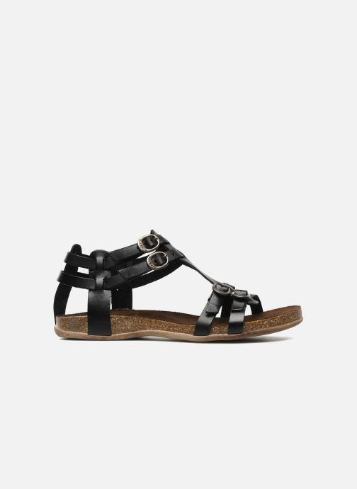 Sandalen Kickers Ana Zwart achterkant