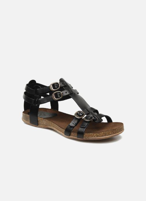 96f8618b95f45e Kickers Ana (Noir) - Sandales et nu-pieds chez Sarenza (120254)
