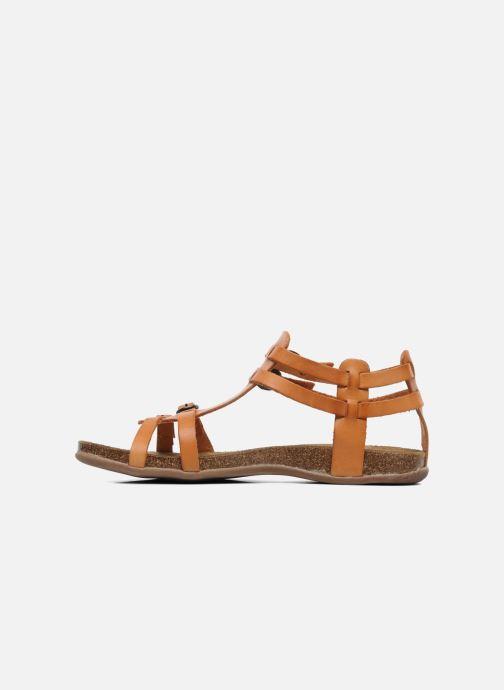Sandales et nu-pieds Kickers Ana Orange vue face