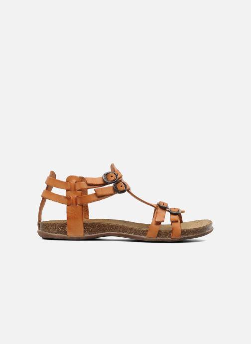 Sandales et nu-pieds Kickers Ana Orange vue derrière