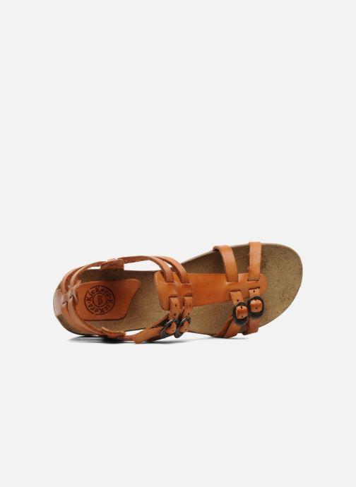 Sandales et nu-pieds Kickers Ana Orange vue gauche