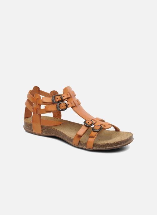 Sandales et nu-pieds Kickers Ana Orange vue détail/paire