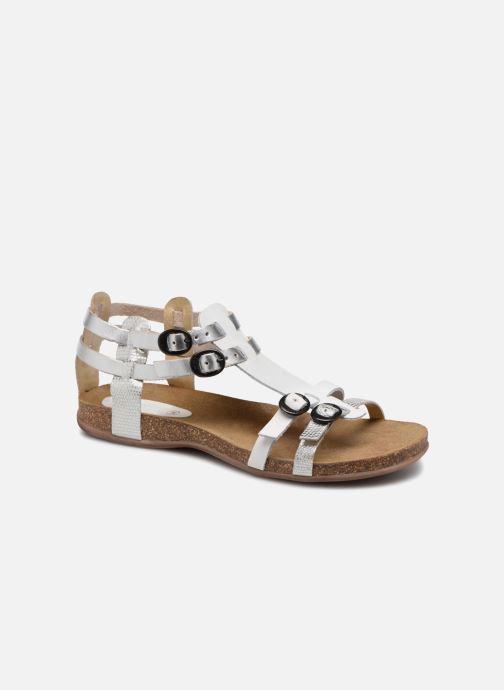 Sandales et nu-pieds Kickers Ana Argent vue détail/paire