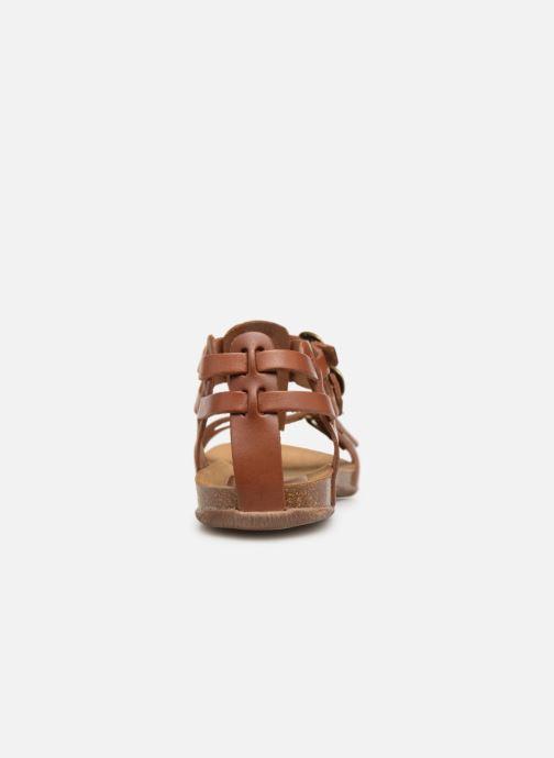 Sandali e scarpe aperte Kickers Ana Marrone immagine destra
