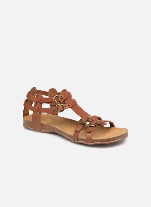 Sandalen Kickers Ana braun detaillierte ansicht/modell