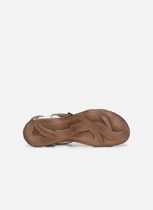 Sandalen Kickers Ana Goud en brons boven