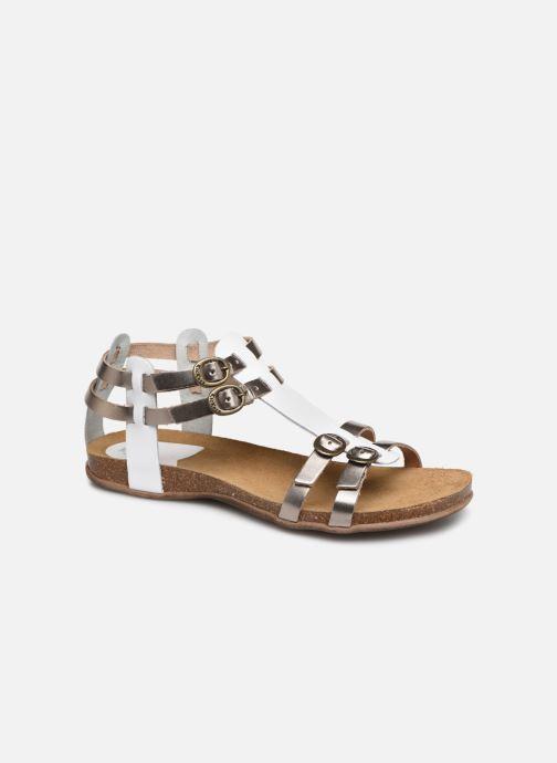 Sandales et nu-pieds Kickers Ana Or et bronze vue détail/paire