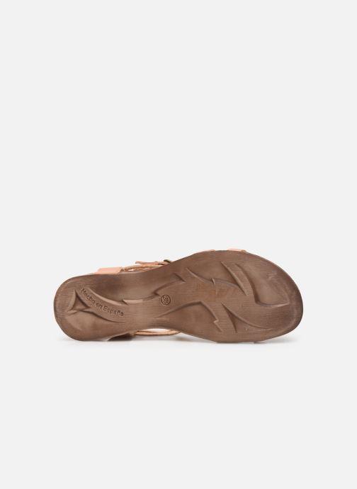Sandales et nu-pieds Kickers Ana Rose vue haut