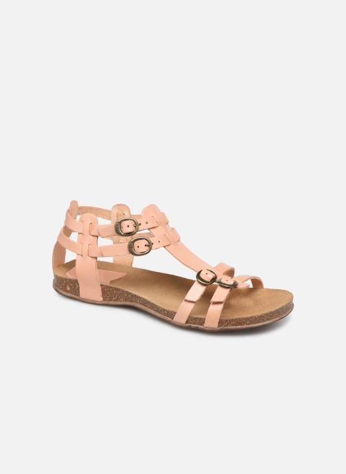 Sandales et nu-pieds Kickers Ana Rose vue détail/paire