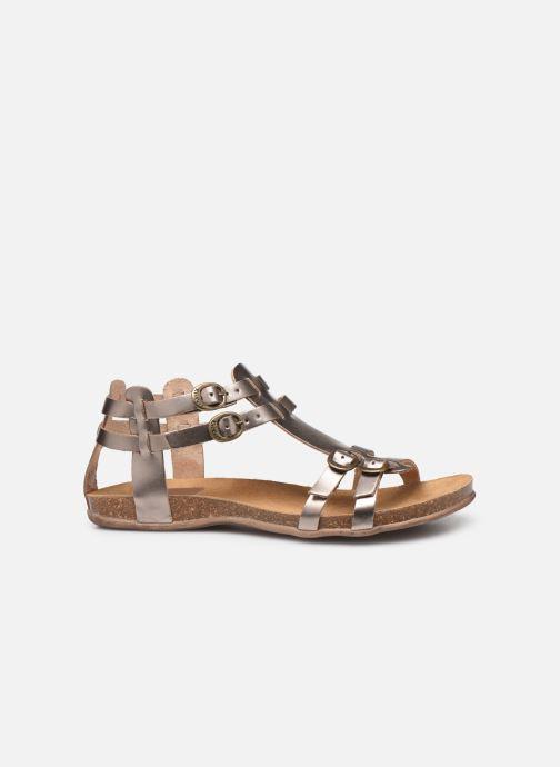 Sandales et nu-pieds Kickers Ana Or et bronze vue derrière