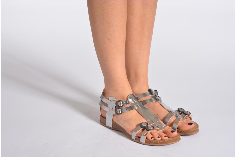Sandaler Kickers Ana Sort se forneden
