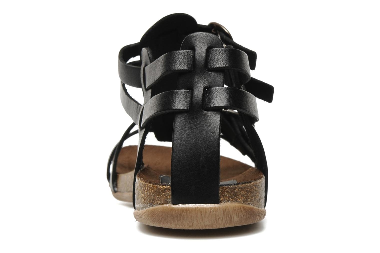 Sandaler Kickers Ana Sort Se fra højre