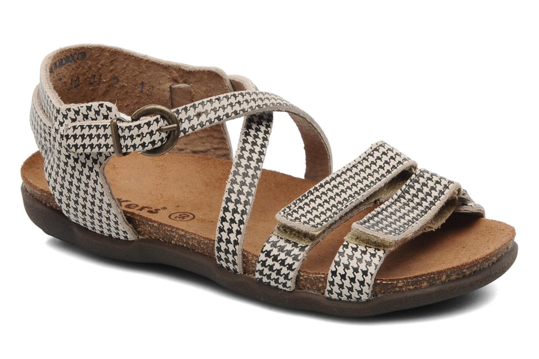 Sandales et nu-pieds Kickers ATOMIUM E Noir vue détail/paire