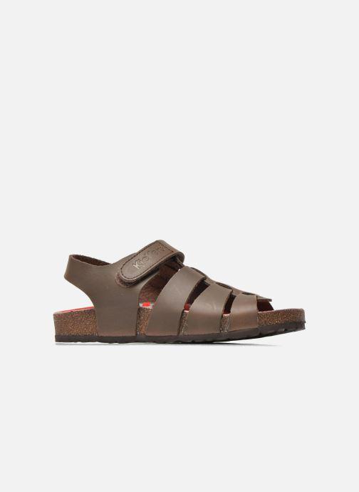 Sandalen Kickers MAGINO Bruin achterkant