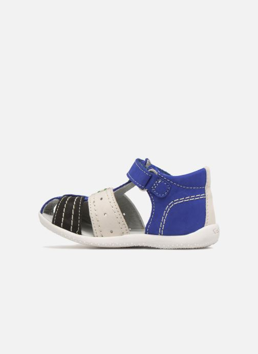 Sandalen Kickers BIGBAZAR blau ansicht von vorne