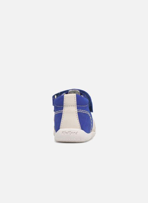 Sandalen Kickers BIGBAZAR blau ansicht von rechts