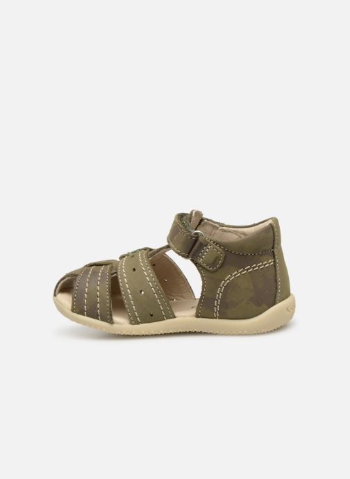 Sandali e scarpe aperte Kickers BIGBAZAR Verde immagine frontale