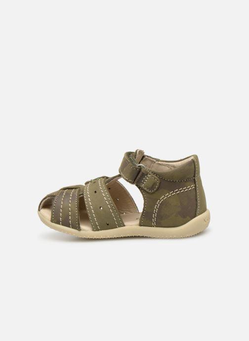 Sandales et nu-pieds Kickers BIGBAZAR Vert vue face