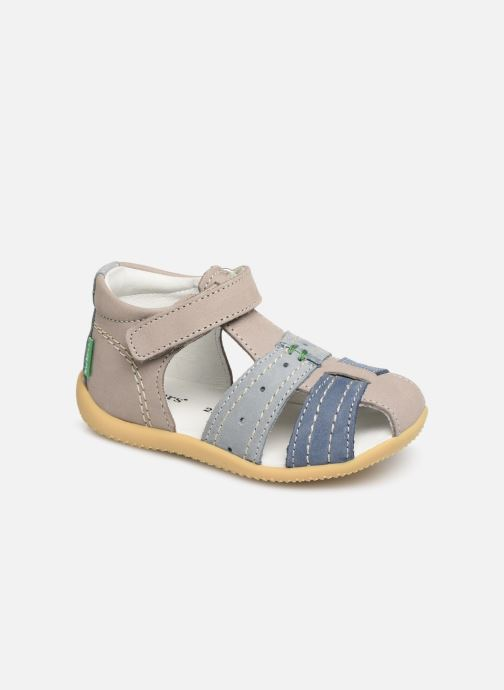 Sandales et nu-pieds Kickers BIGBAZAR Bleu vue détail/paire