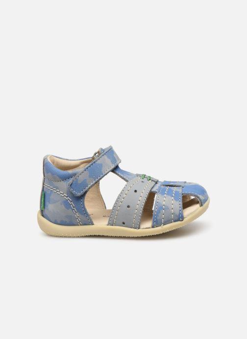 Sandales et nu-pieds Kickers BIGBAZAR Bleu vue derrière