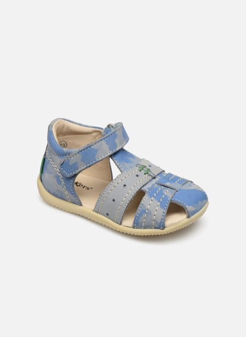 Sandalen Kickers BIGBAZAR blau detaillierte ansicht/modell