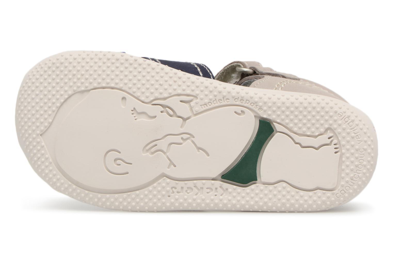 Sandalen Kickers BIGBAZAR Grijs boven
