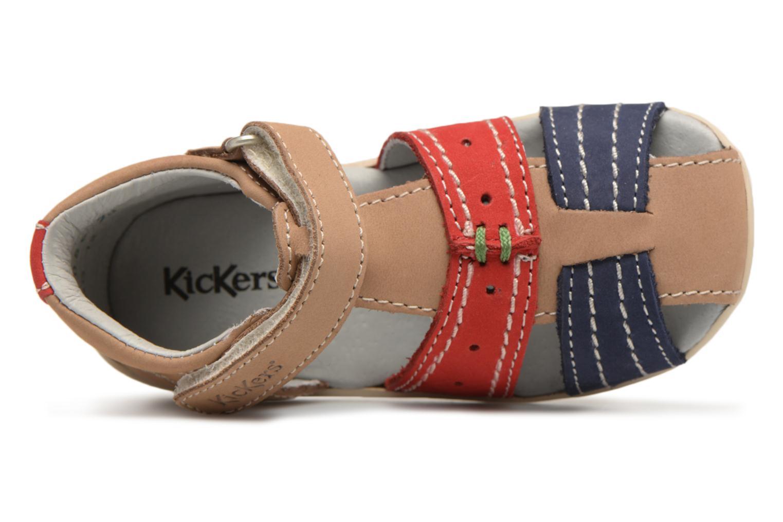 Sandalen Kickers BIGBAZAR Beige links