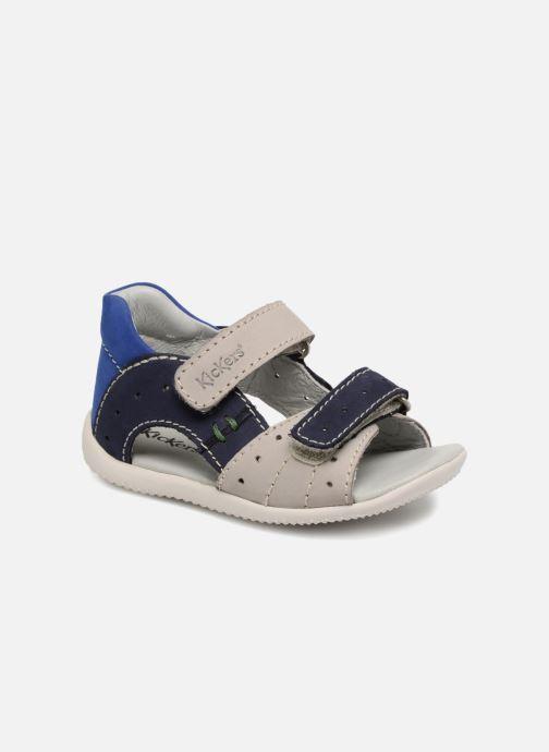 Sandales et nu-pieds Kickers BOPING Gris vue détail/paire
