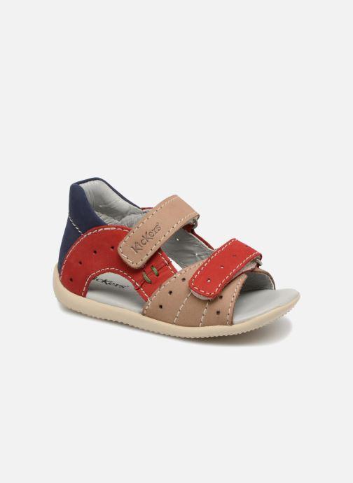 Sandales et nu-pieds Kickers BOPING Beige vue détail/paire