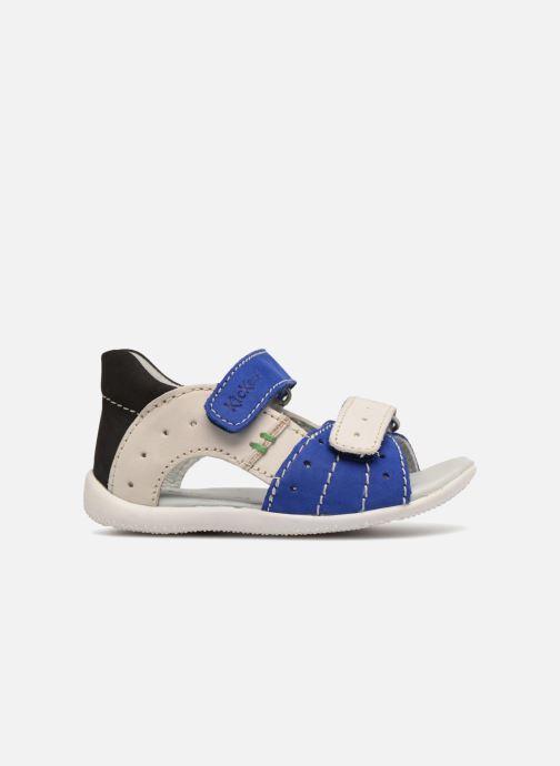 Sandales et nu-pieds Kickers BOPING Bleu vue derrière