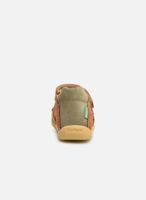 Sandali e scarpe aperte Kickers BOPING Marrone immagine destra