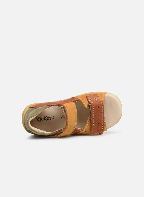 Sandali e scarpe aperte Kickers BOPING Marrone immagine sinistra