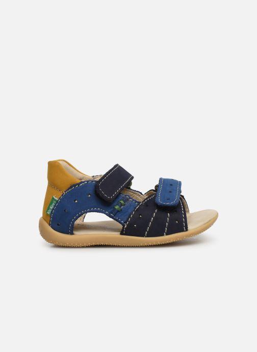 Sandalen Kickers BOPING blau ansicht von hinten