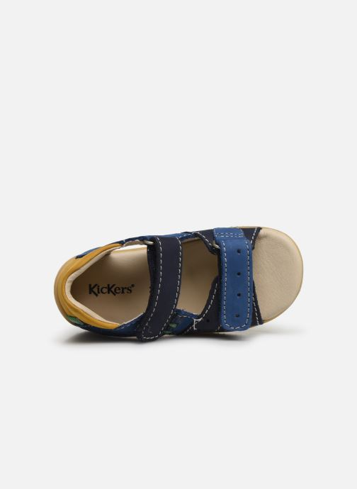 Sandalen Kickers BOPING Blauw links