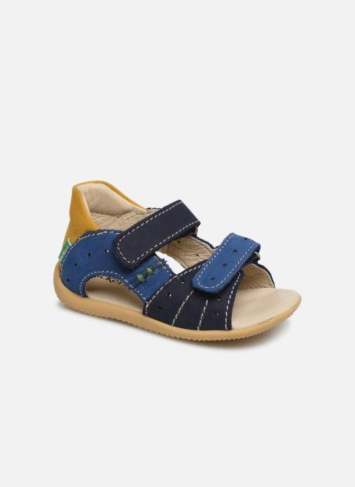 Sandalen Kickers BOPING blau detaillierte ansicht/modell
