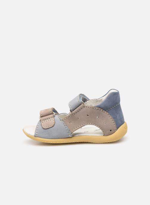 Sandalen Kickers BOPING Blauw voorkant