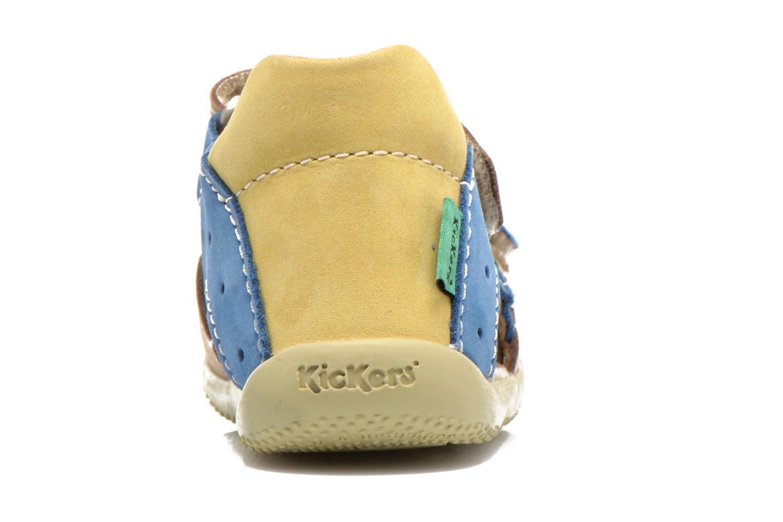 Sandales et nu-pieds Kickers BOPING Beige vue droite