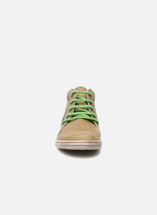 Boots en enkellaarsjes Kickers TEOPHANE Beige model