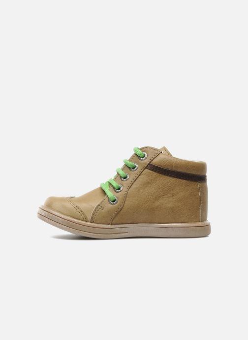 Boots en enkellaarsjes Kickers TEOPHANE Beige voorkant