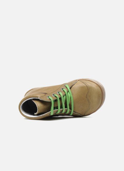 Boots en enkellaarsjes Kickers TEOPHANE Beige links