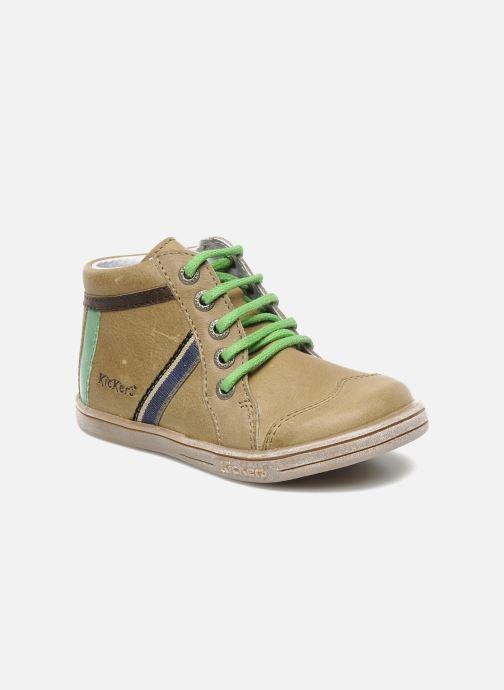 Boots en enkellaarsjes Kickers TEOPHANE Beige detail