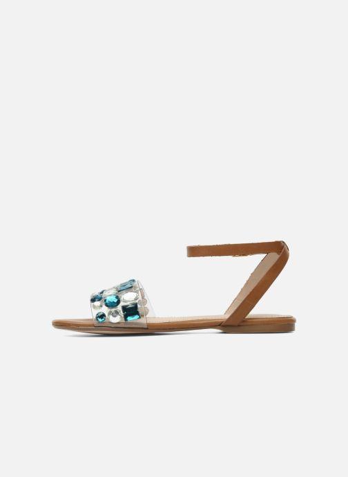 Sandales et nu-pieds KG By Kurt Geiger Noble Marron vue face