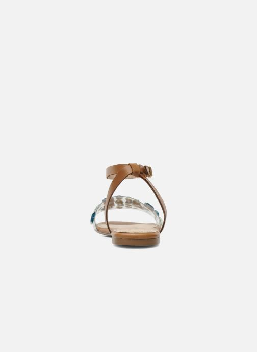 Sandals KG By Kurt Geiger Noble Brown view from the right