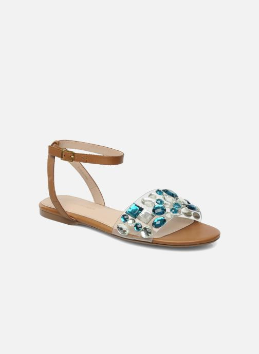 Sandals KG By Kurt Geiger Noble Brown detailed view/ Pair view