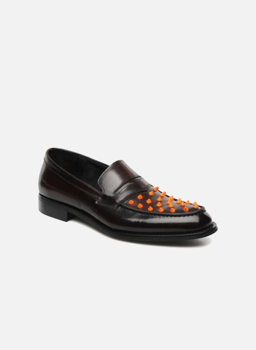 Loafers KG By Kurt Geiger Jetson Brown detailed view/ Pair view