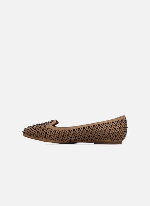 Loafers Jeffrey Campbell Martini SP Beige front view