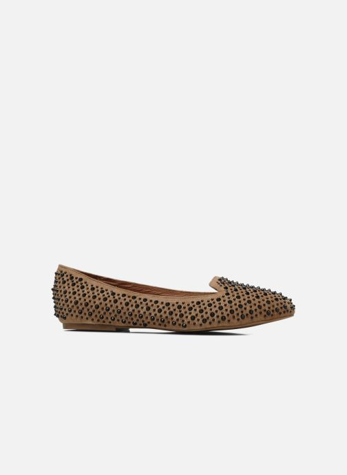 Loafers Jeffrey Campbell Martini SP Beige back view